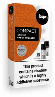 amber tobacco pack