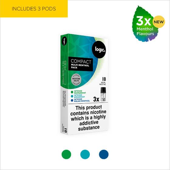 logic e-liquids and refills